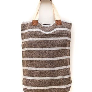 Roost Striped Deep Tote
